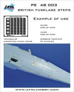 48 003 British fuselage steps