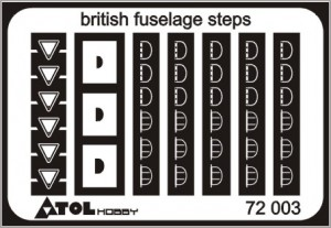 british fuselage steps 72 003
